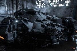 Une véritable image de la Batmobile par Zack Snyder !