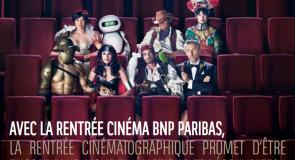 Gagnez des contremarques pour La Rentrée Cinéma BNP Paribas