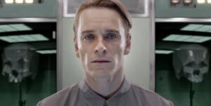 L'androide David dans Prometheus