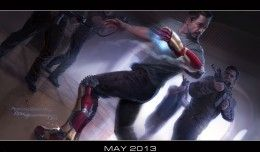 Concept Art Iron Man 3