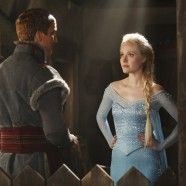 Comic Con 2014 : une photo d'Elsa (Frozen) dans Once Upon A Time