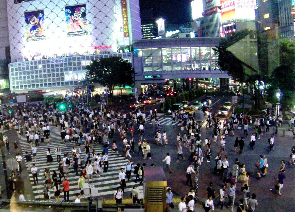 Le quartier de Shibuya
