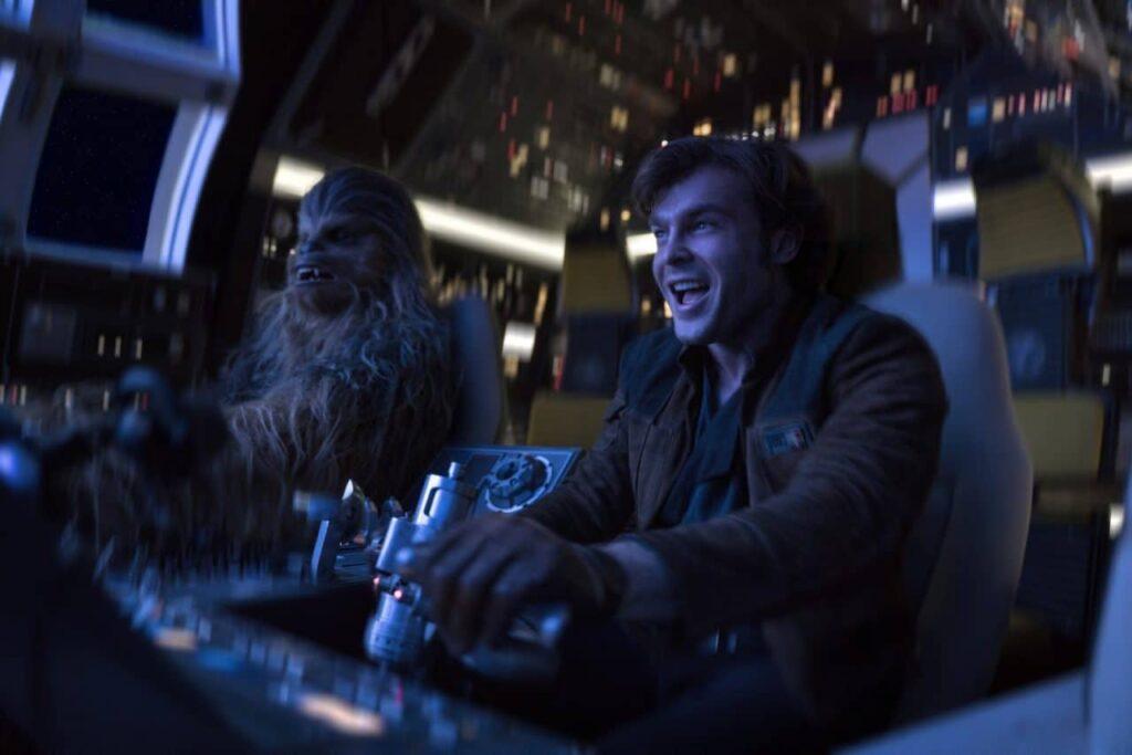 Alden ehrenreich dans Solo a Star Wars Story