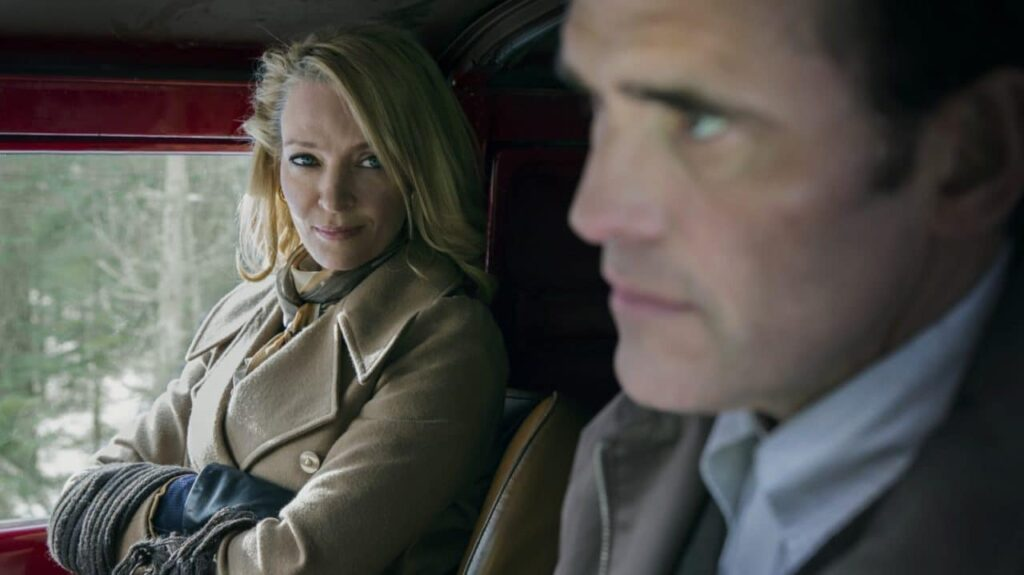 Uma Thurman et Matt Dillon dans The House That Jack Built