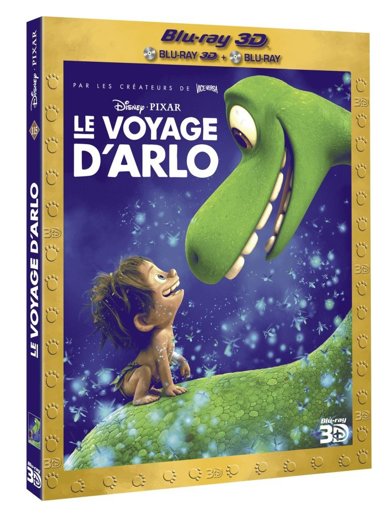 3D BD3D LE VOYAGE D'ARLO