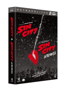 3D BIPACK DVD SIN CITY 1 ET 2
