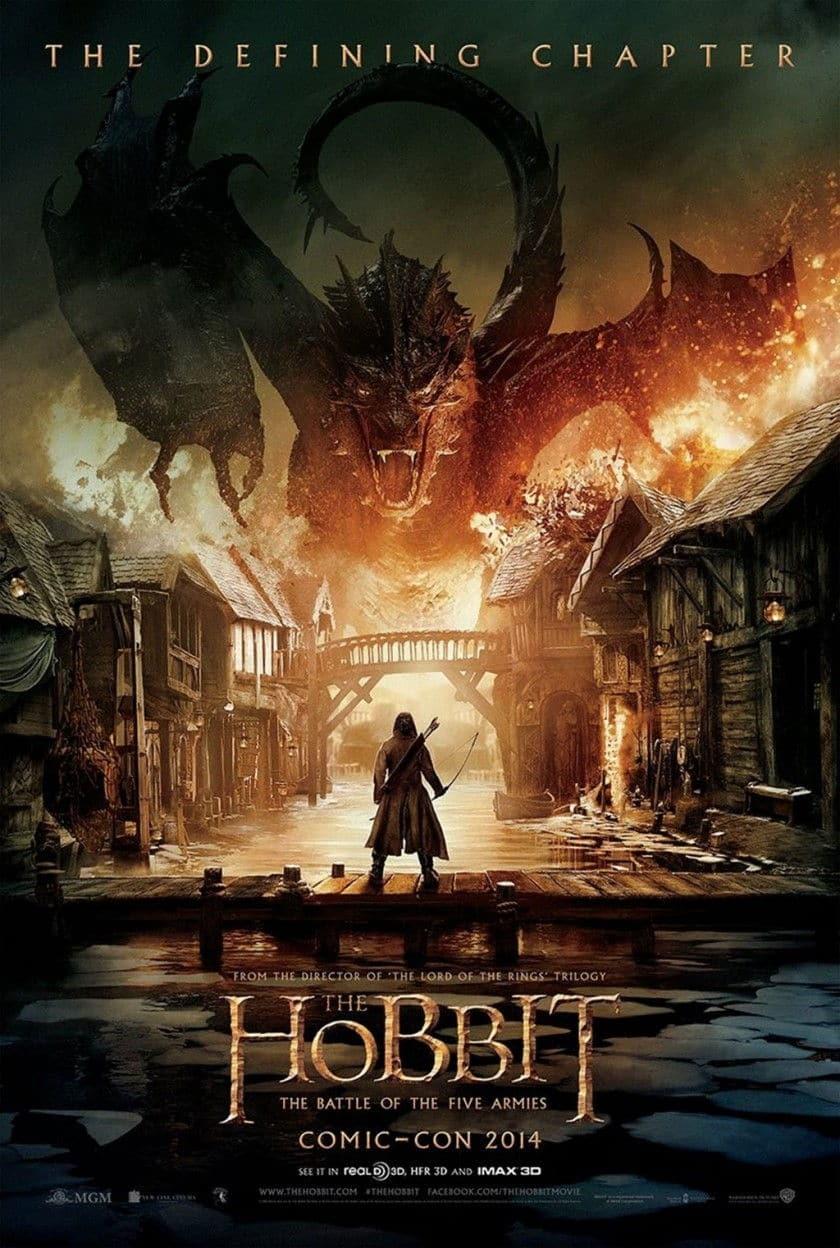 Affiche-The-Hobbit-The-Battle-of-the-Five-Armies-San-Diego-Comic-Con-2014
