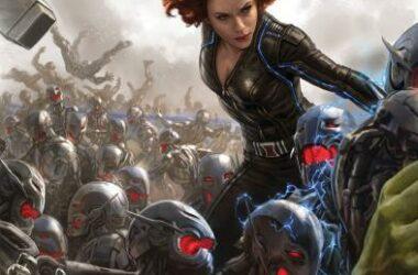 Scarlett Johansson dans Avenrgers 2