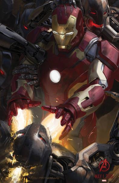 Iron Man dans avengers 2