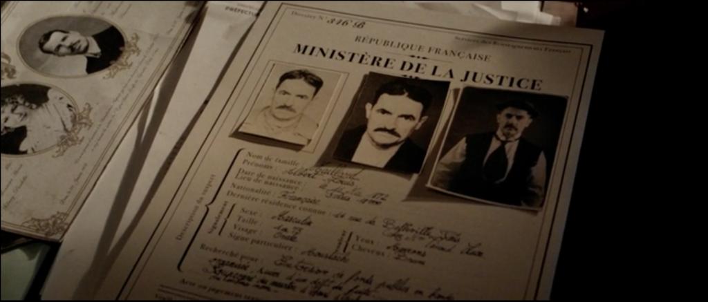 Papiers de Albert pour le ministère de justice.