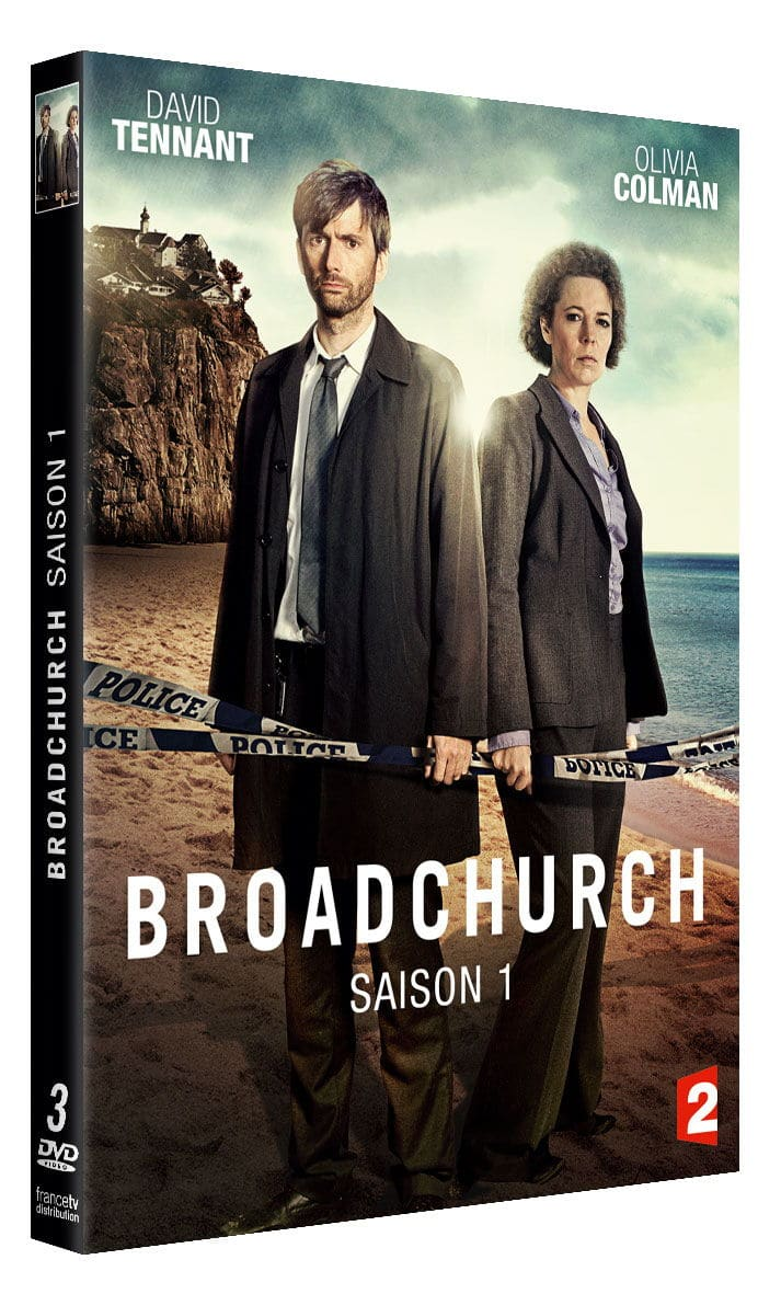 DVD/BLU-RAY broadchurch