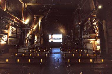 Devil Inside-projection chapelle5