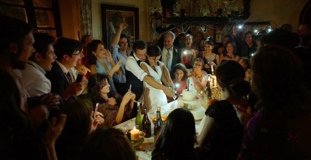 scene du mariage