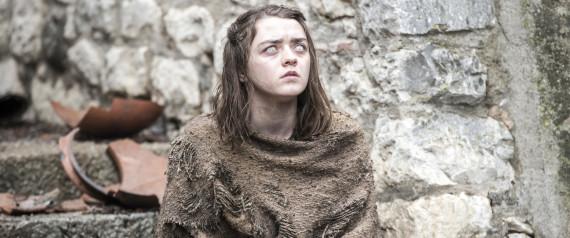 Arya Stark aveugle