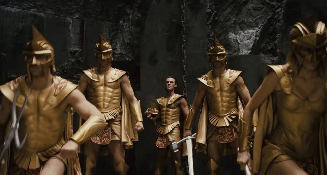 les Immortels Dieux Vs Titans