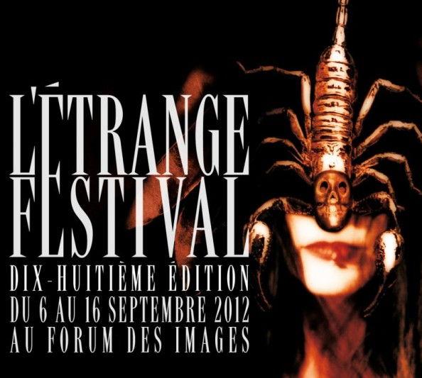 Affiche de l'etrange festival 2012
