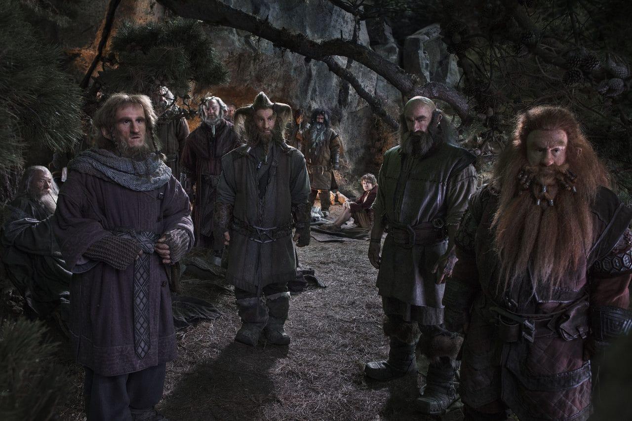 Les héros de The hobbit