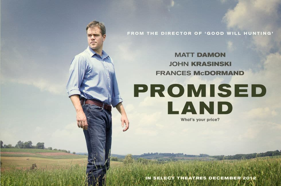 Affiche Promised land
