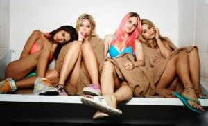 Photo des filles du film springbreakers