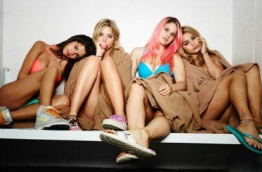 Photo des filles du film springbreakers