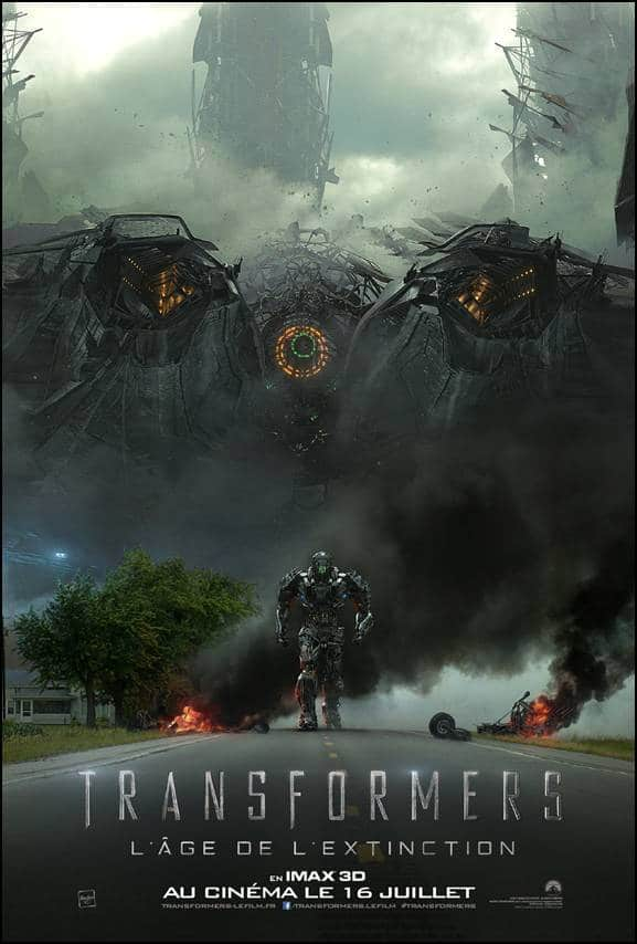 TRANSFORMERS 4 AFFICHE IMAX