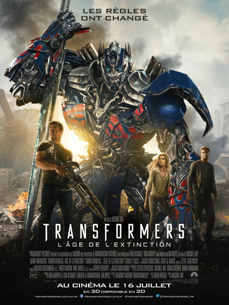 TRANSFORMERS4_AGE_EXTINCTION_AFFICHE