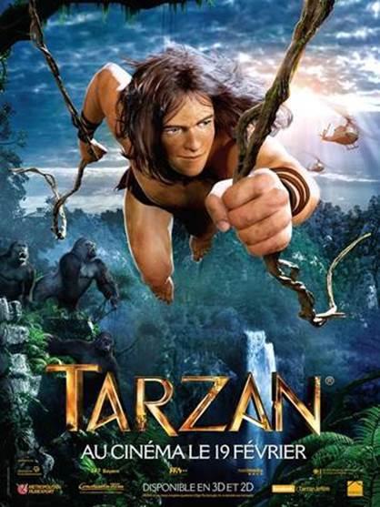 Tarzan 2014 Affiche