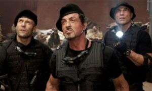 Stallone dans The Expendables