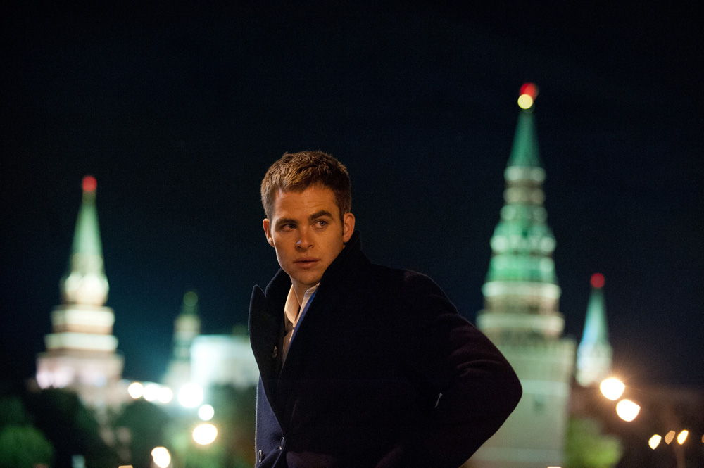 Chris Pine en Jack Ryan