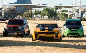 Les autobots dans Transformers 2
