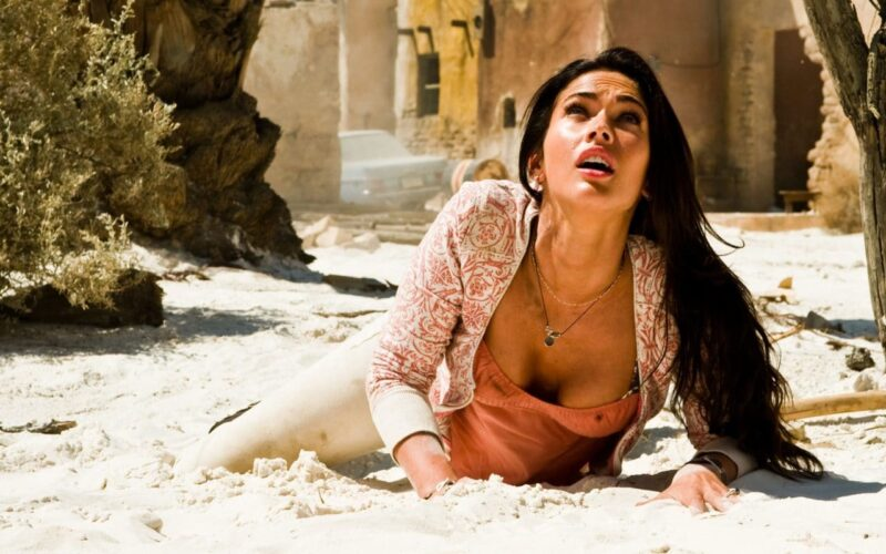 Megan Fox dans Transformers 2