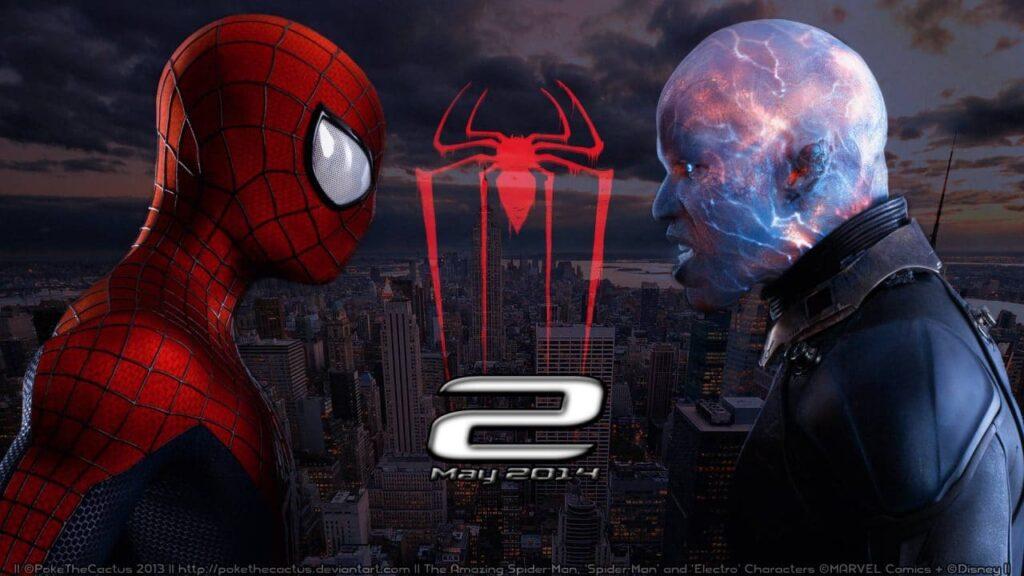 amazing_spider_man_2_electro_spidey_affiche
