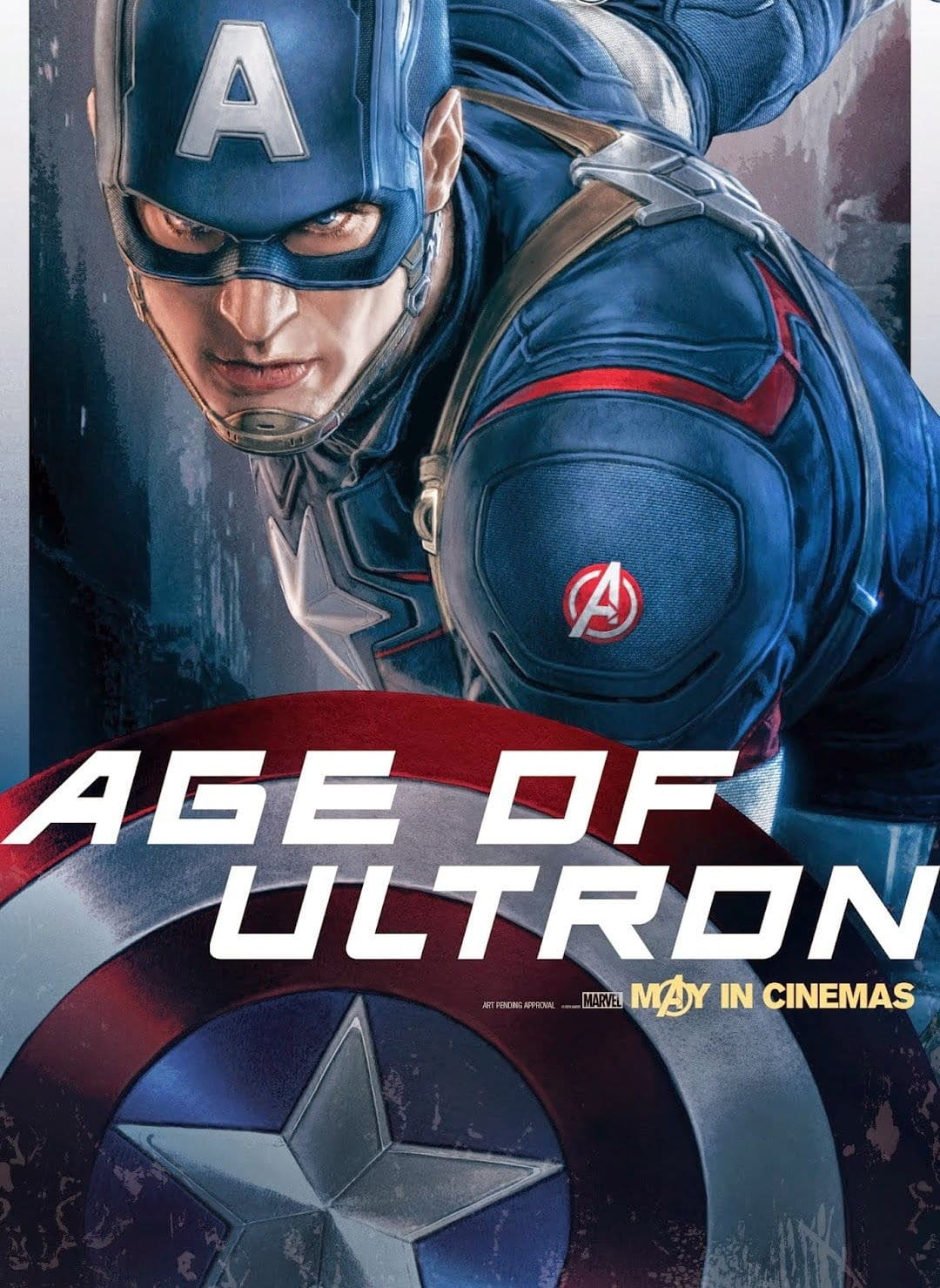 Captain America dans Avengers Age Of Ultron