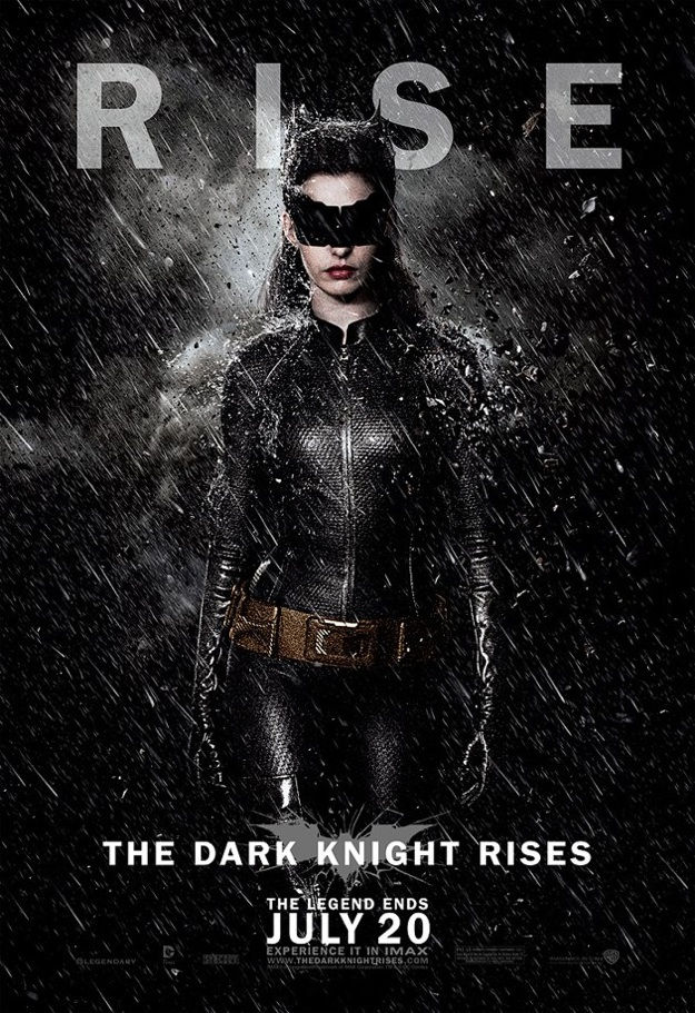 Catwoman in the dark knight rises