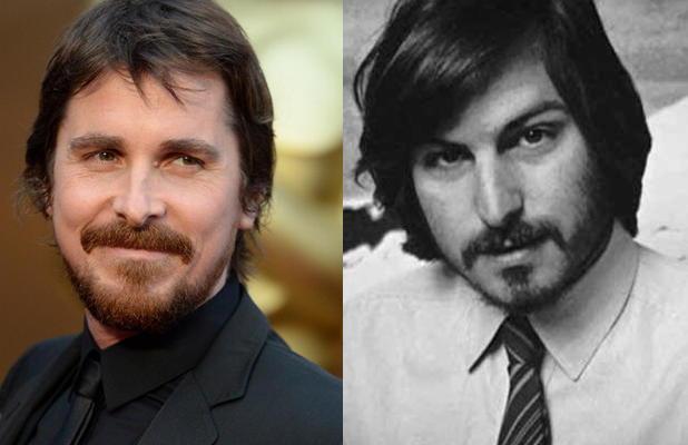 Steve Jobs et Christian Bale