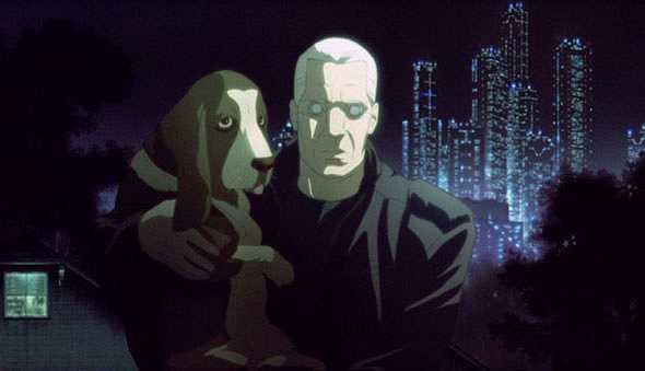 Dog in ghost in the shell