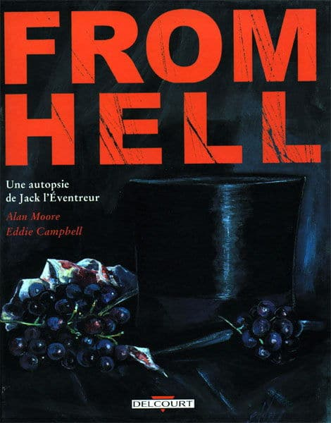 Couverture de From Hell d'Alan Moore et Eddie Campbell