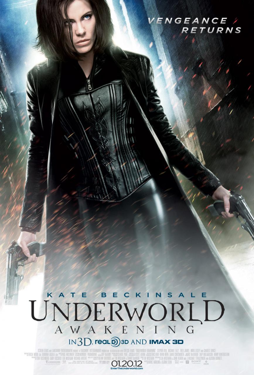 le poster de Underworld Awakening