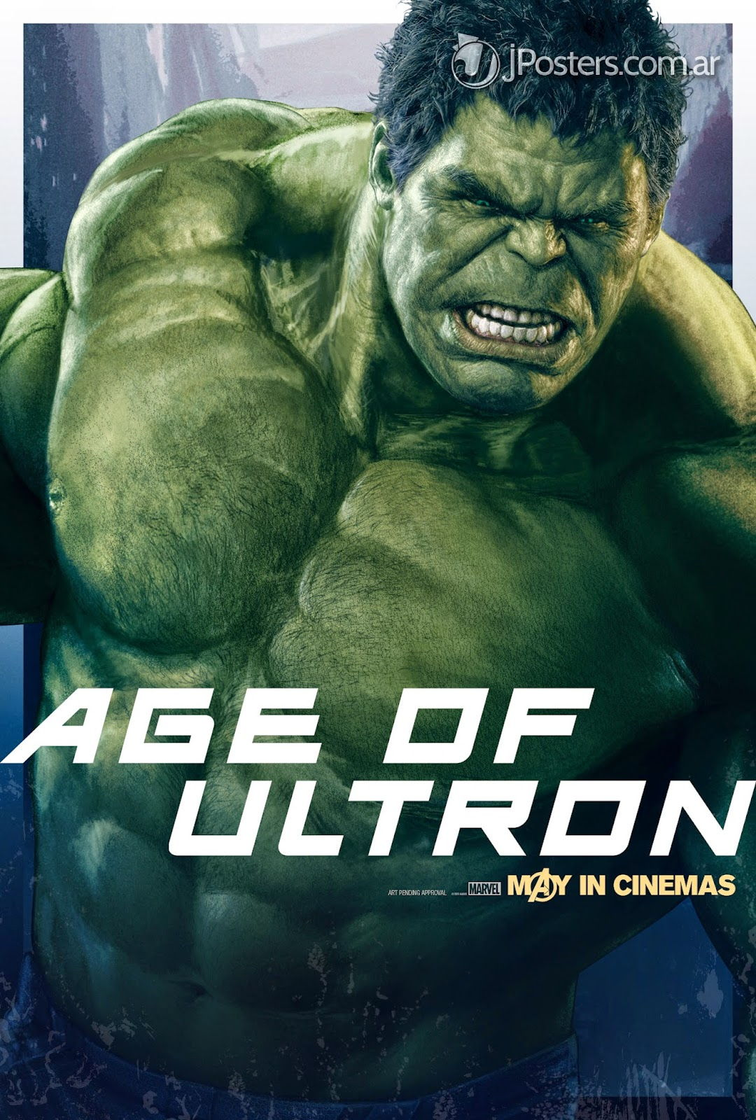 Hulk dans Avengers Age Of Ultron