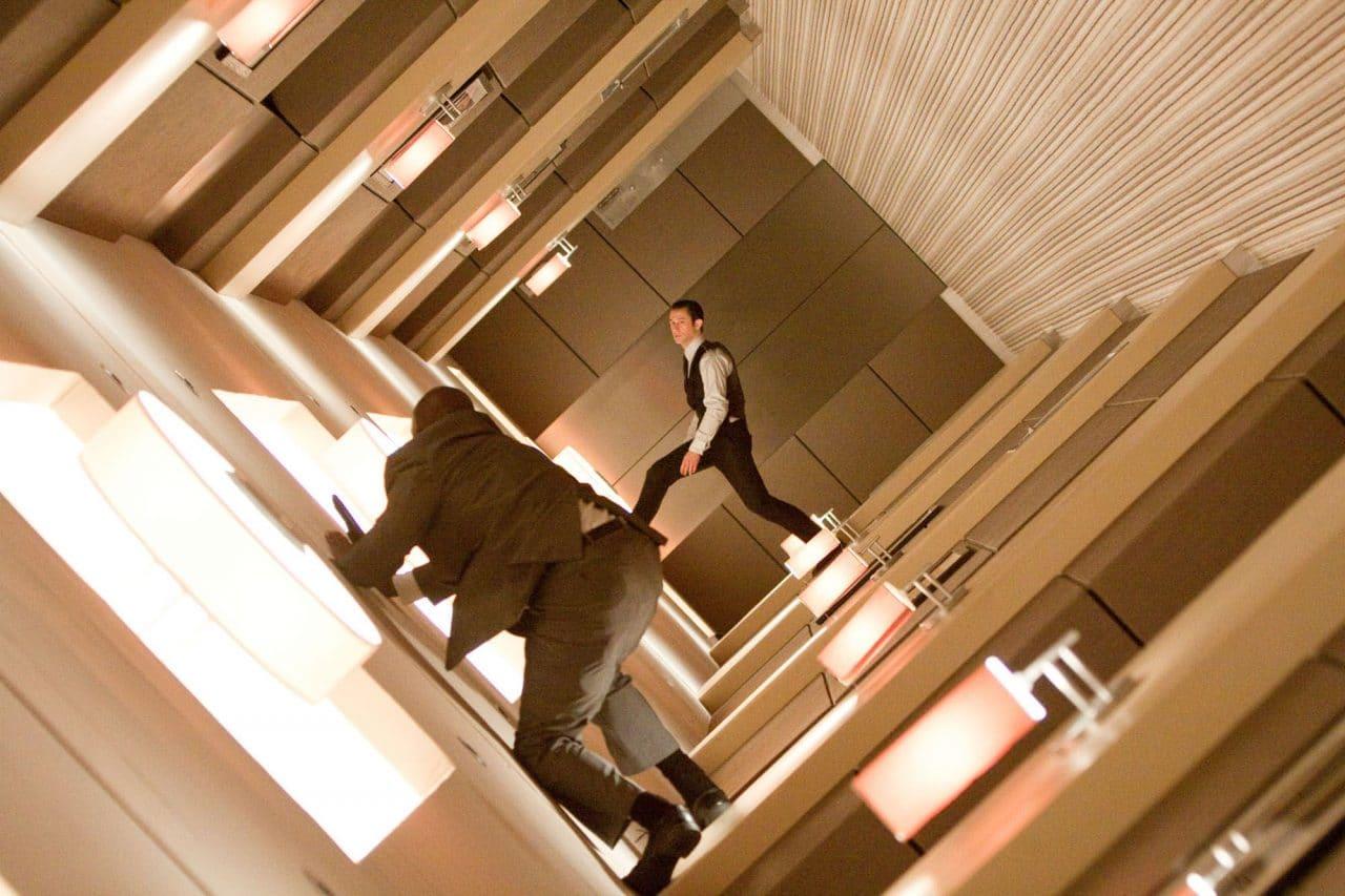 Scène de l'hotel dans Inception