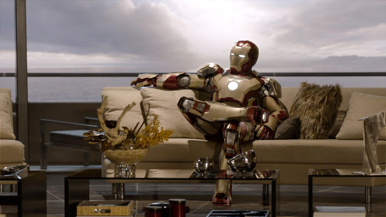 Iron Man dans Iron Man 3