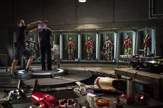 Le tournage d'Iron Man 3