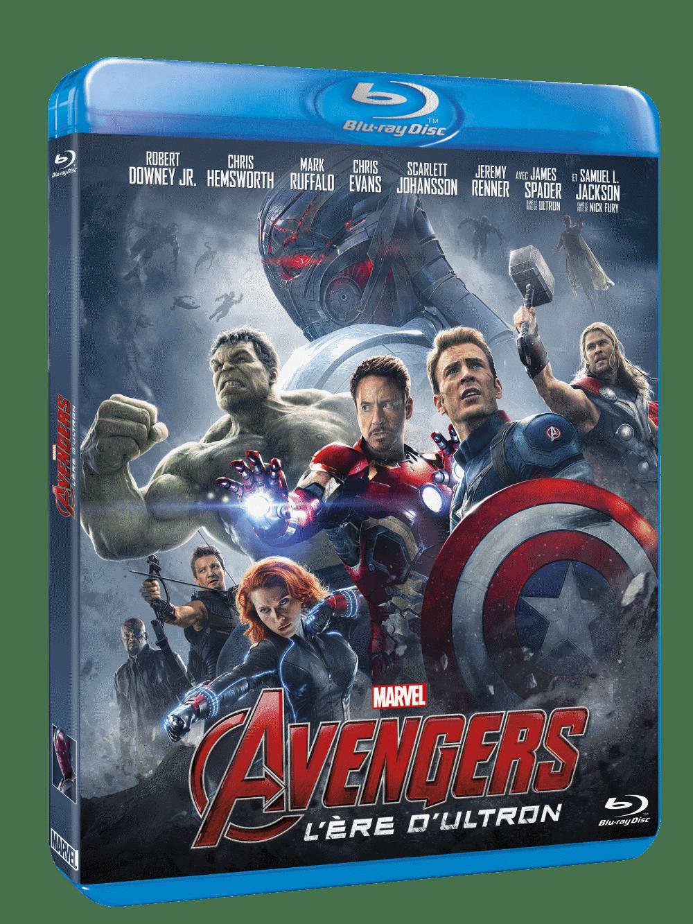 jaquette BR Avengers Ultron