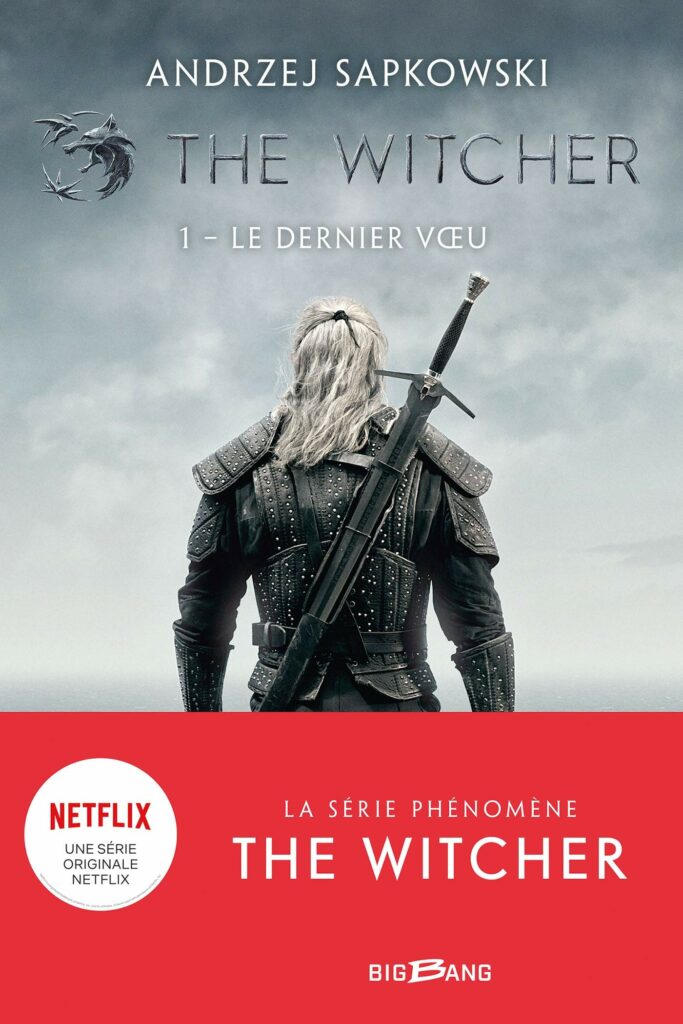 livre the witcher netflix