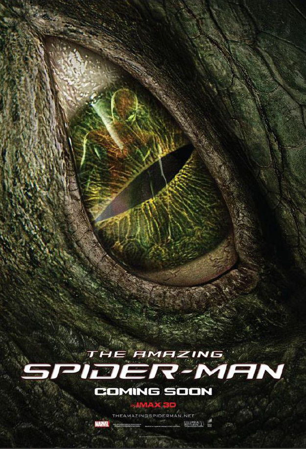Poster du lézard de The amazing Spiderman