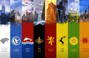 Maisons de westeros