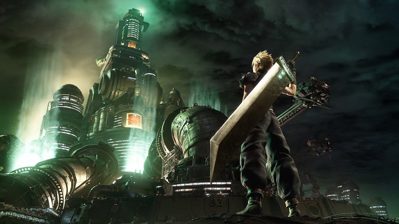 Cloud face à midgar