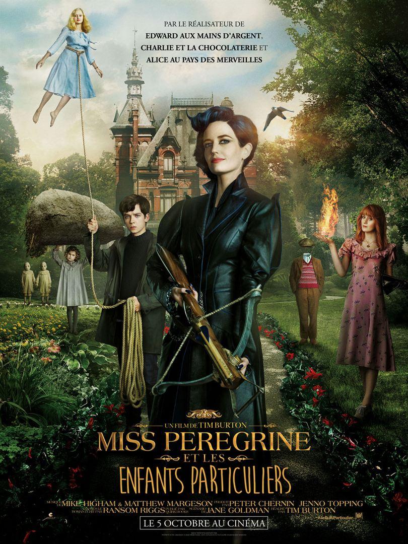 miss peregrine affiche