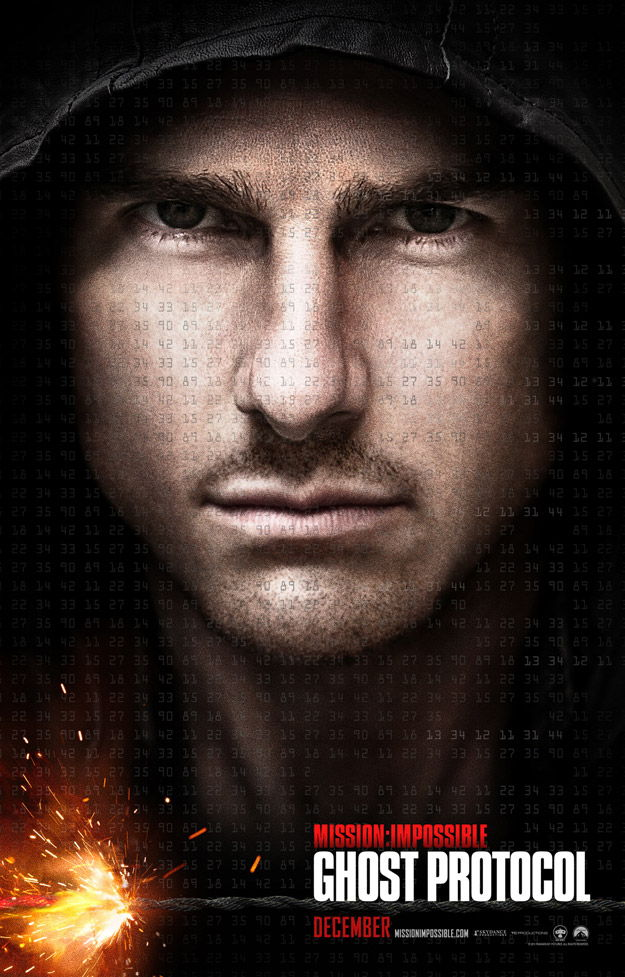 Le poster de Mission Impossible 4