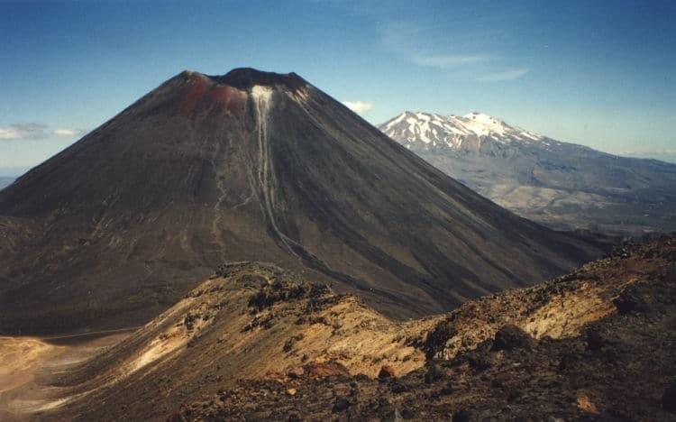 le mont ruapehu, lieu de tournage de the hobbit de Peter jackson